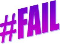 Fail Hashtag