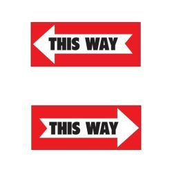 This way arrows